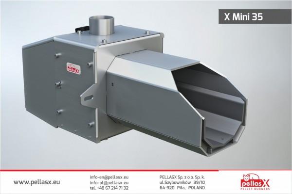Пеллетная горелка Pellasx X MINI 35