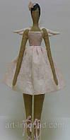 Детская Интерьерная Кукла Тильда Фея в пуантах, фото 1