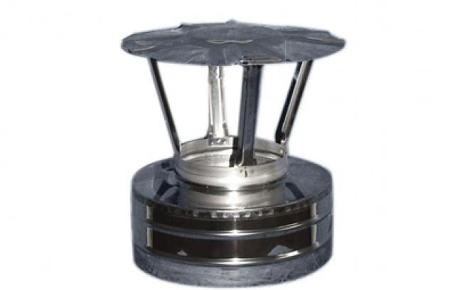 Грибок термо для дымохода с термоизоляцией