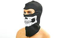 Балаклава-маска Скелет ( подшлемник)