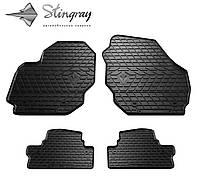 Stingray Модельные автоковрики в салон Вольво V70 2007- Комплект из 4-х ковриков (Черный)