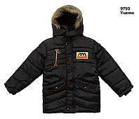 Тепла куртка для хлопчика. 130 см