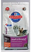 Корм для собак миниатюрных пород Hills Adult Small and Miniature