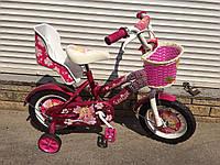 Детский двухколесный велосипед Princess Принцессы на 12 д