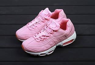 Женские кроссовки Nike Air Max 95 Pink, найк аир макс 95, жіночі кросівки найк аір макс 95, фото 2