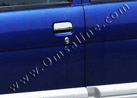 Нержавеющие накладки на ручки Daihatsu Terios 2003+