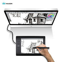 HUION NEW 1060 PLUS 8192 PRO графический планшет с пером. Суперкомплект