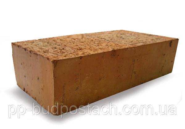 Кирпич полнотелый и пустотелый глиняный