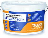 """Полипласт ПРГ - 04 - Мастика гидроизоляционная однокомпонентная """"Гидростоп"""" 7 кг"""