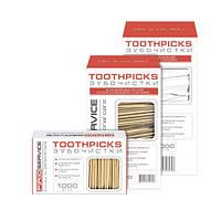 Зубочистки без индивидуальной упаковки 1000 шт.