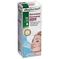 Altapharma Meerwasser Nasenspray Sensitiv - Спрей для носа с морской водой Sensitiv, 20 мл