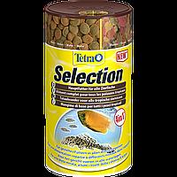 Корм Tetra SELECTION 100 мл смесь кормов для разных видов рыб