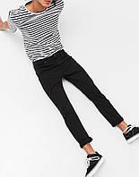 Джинси Bershka - Черные цвета узкие (мужcкие джинсы)