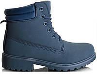 Ботинки TIMBERKI BL81 Ботильоны Синие