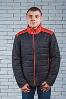Куртка мужская демисезонная черная(44-60)