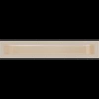 Решітка люфт біла, бежева, графітова, чорна 9х40 см, фото 1