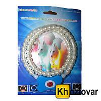 Светящийся ошейник для собак в виде жемчужин Pet's simulated pearl gleamy necklage