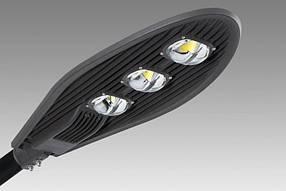 Светодиодный уличный консольный светильник SL47-150 150W 6500K IP65 Классик Код.58367