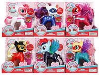 Игровой набор Пони/Единорог «Ляля Пони» ZYA-A2687 с аксессуарами (6 видов)