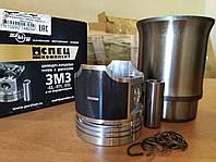 Гильза с поршнем ГАЗ-53 (на 4 цилиндра) М/К (пр-во КМЗ) спецкомплект