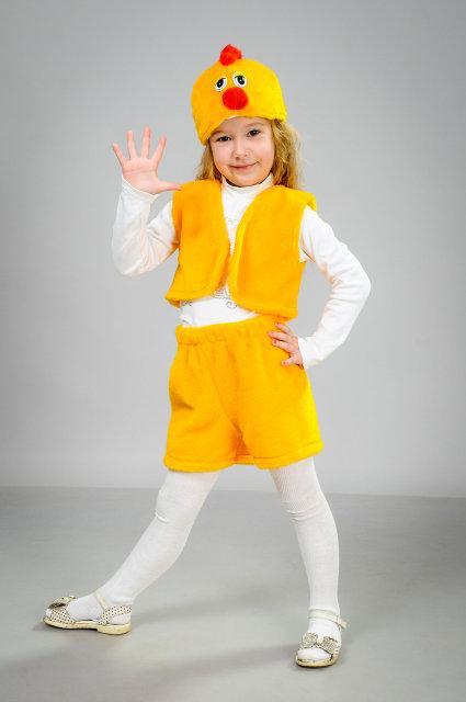Детский карнавальный костюм Цыпленок (30-32)