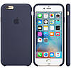 Силиконовый чехол Apple Silicone Case IPHONE 6 Plus ( Dark blue)