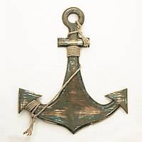 Винтажный адмиралтейский якорь, фото 1