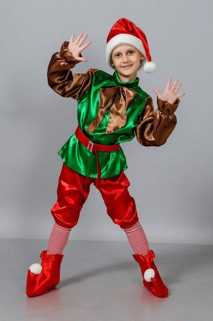 Детский карнавальный костюм Лесной гном (32-38)