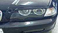 Реснички на фары БМВ Е46 (BMW E46), дорестайлинг /комплект