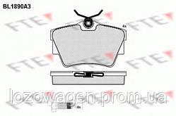 Колодки тормозные задние FTE BL1890A3