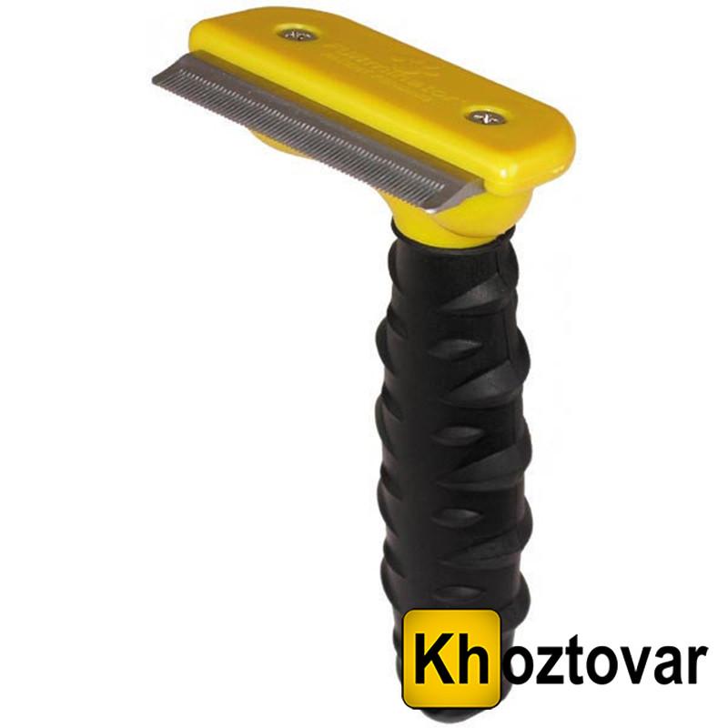 Щетка для груминга собак и кошек Furminator deShedding Tool | Фурминатор | Лезвие 6,8 см | Против линьки