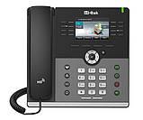 """IP-телефон Htek UC924, Gigabit, цветной дисплей 3,5"""", 4 SIP аккаунта, PoE, фото 2"""
