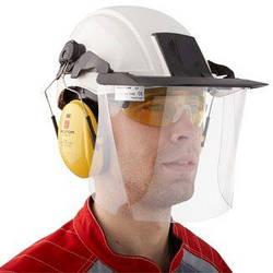 Очки, наушники, маски и защитные каски