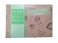 PRO Салфетки влажные для рук и лица, антибактериальные  в боксе «FOOD-COURT» 80 шт.