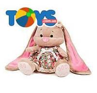 Мягкая игрушка «ЗайкаЛинвцветастом платье», JL-003-25