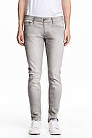 Джинси H&M DIVIDED Man - Classic Skinny Gray2 (мужские джинсы)