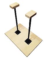 Трости - стоялки на деревянной основе 70 см.