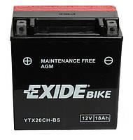 Аккумулятор Exide YTX20CH-BS