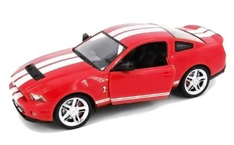 Машинка р/у 1:14 Meizhi лиценз. Ford GT500 Mustang (красный), фото 2