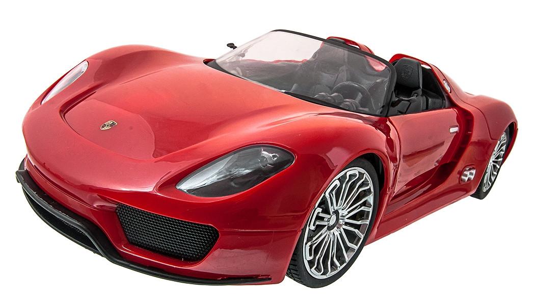 Машинка р/у 1:14 Meizhi лиценз. Porsche 918 (красный)