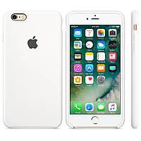 Силиконовый чехол Apple Silicone Case IPHONE 6 Plus (White)