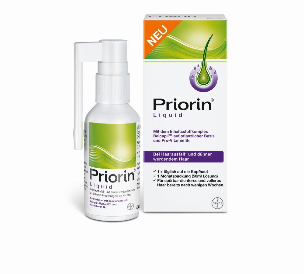 Приорин-спрей для восстановления роста волос, Priorin Liquid, 50 мл
