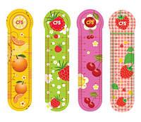 """Закладки пластиковые """"Fruit"""" 4шт. CF69106"""