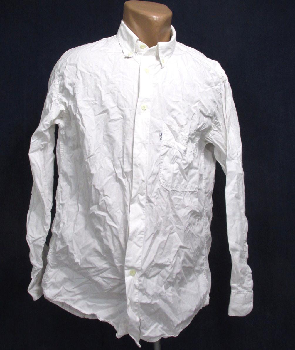 Рубашка белая LEVIS, M, Cotton, Отл сост!