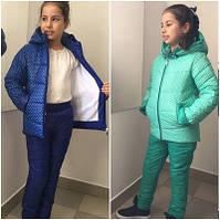Детский зимний костюм №678 (р.122-140)