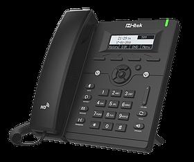 IP-телефон Htek UC902, 2 SIP аккаунта, ч/б экран, HD Voice