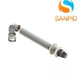 Комплект коаксиальных труб к конденсационному котлу Chaffoteaux 60/100 L=1м.