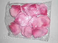 Искусственные красно-розовые лепестки роз (600 шт.)