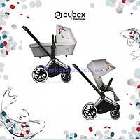 Детская универсальная коляска 2 в 1 Cybex Priam Koi Crystallized