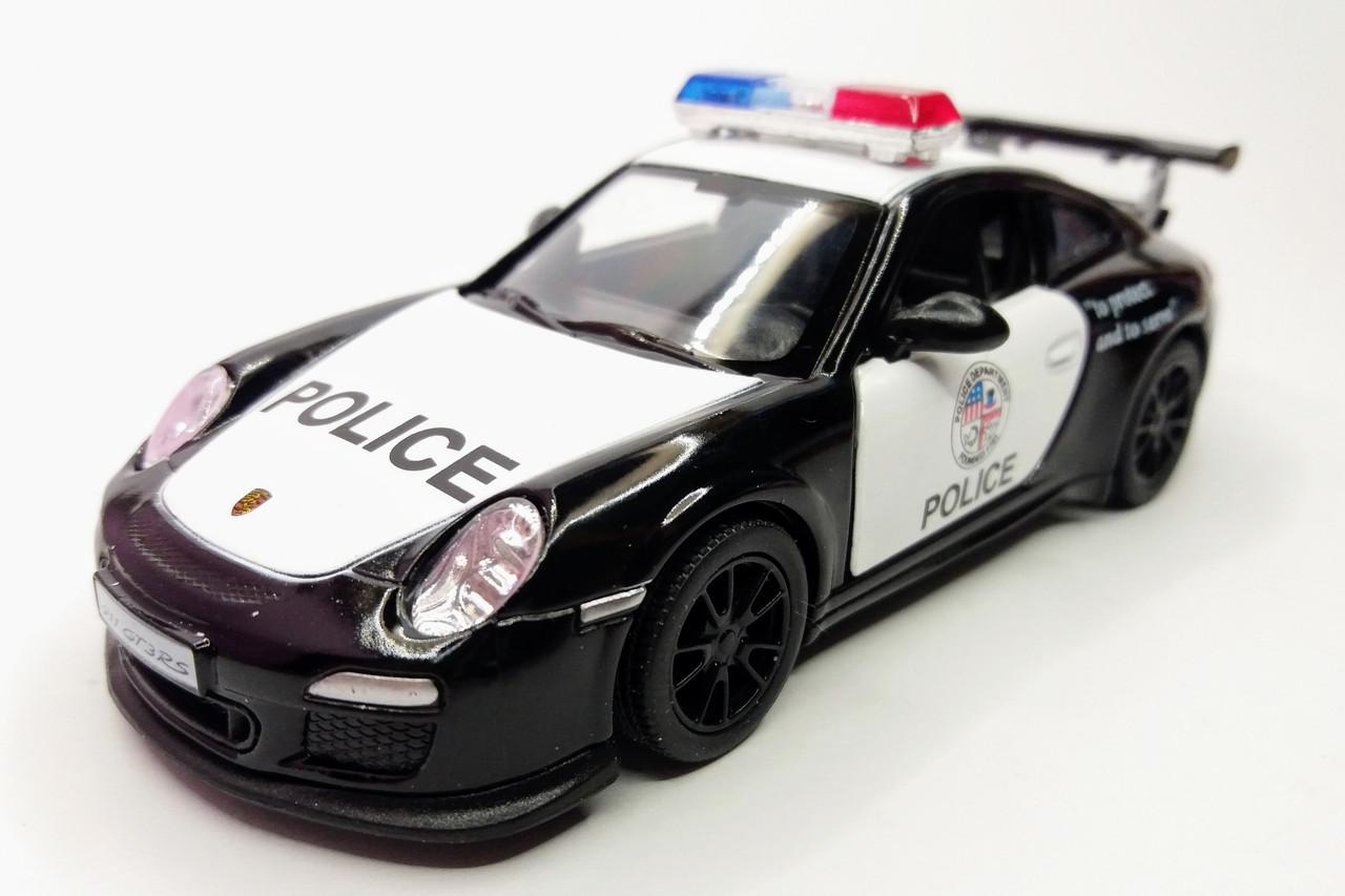 Автомобиль металлический KINSMART Porsche 911 GT3 RS 2010 (Police) (KT5352P)